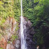 So nice to find undiscovered spots in Bali like this hidden waterfall - so peaceful, just us surrounded by nature and the sound of tumbling water . .